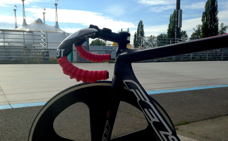 Curve on Track Bike